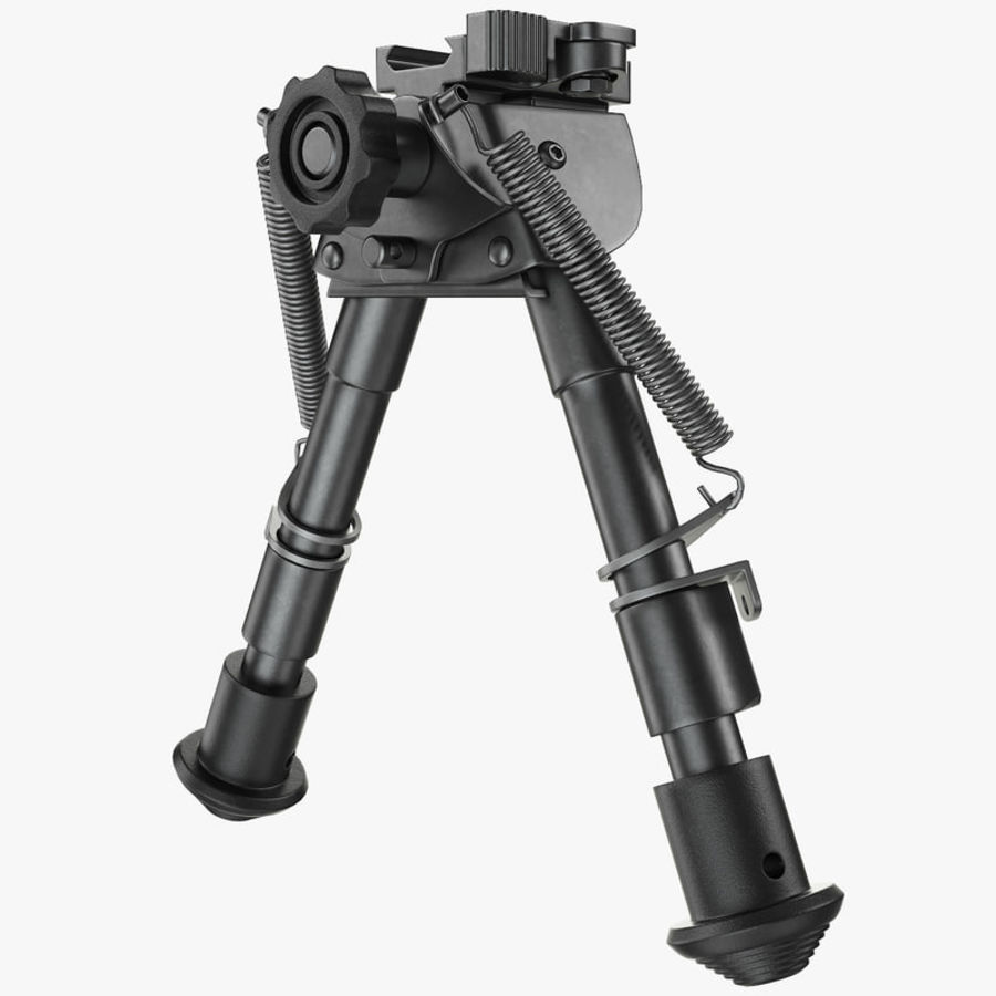 Sniper rifle bipod royalty-free 3d model - Preview no. 1