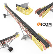 Correia transportadora 3d model
