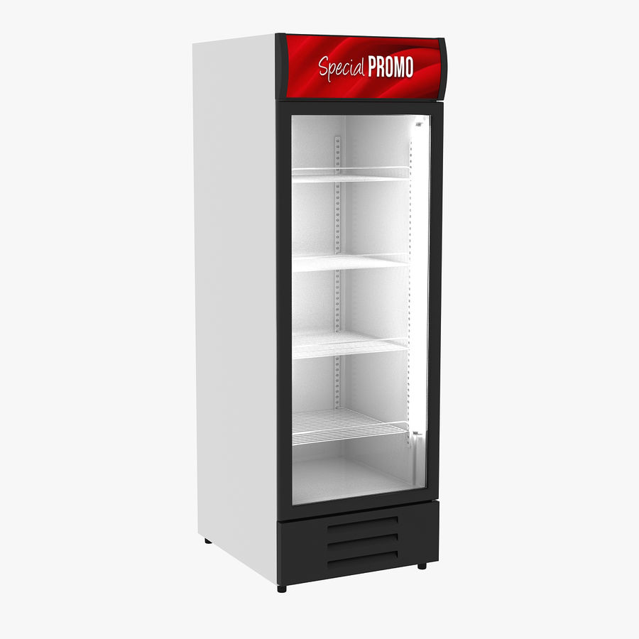 Refrigerator Display royalty-free 3d model - Preview no. 1