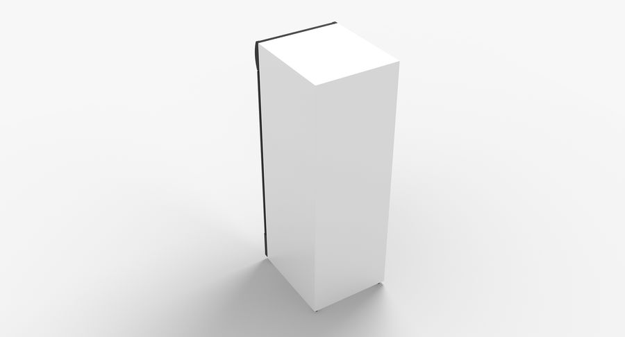 Refrigerator Display royalty-free 3d model - Preview no. 5