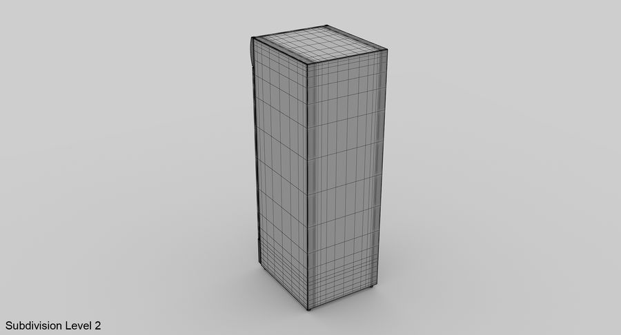 Refrigerator Display royalty-free 3d model - Preview no. 12