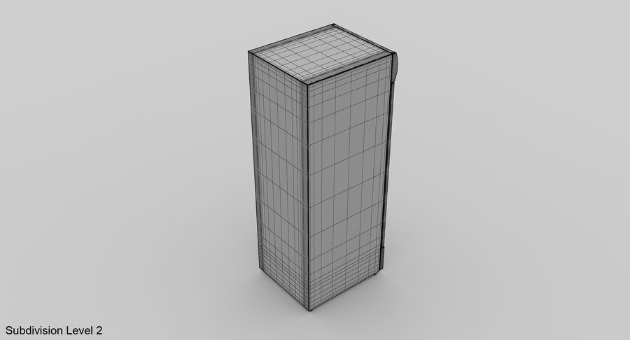 Refrigerator Display royalty-free 3d model - Preview no. 14
