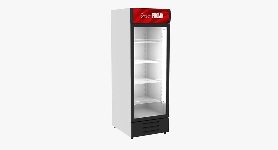 Refrigerator Display royalty-free 3d model - Preview no. 2