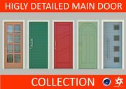 Main Door Collection 3d model