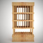 wine rack_5 3d model