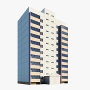 Moduł budynku mieszkalnego 3d model