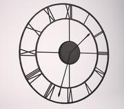 o relógio de parede 3d model