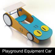 Action4kids Children Playground Equipment: Car toy 3d model