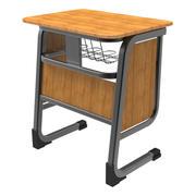 학교 책상 3d model