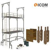 Construction Tools and Equipment 3d model