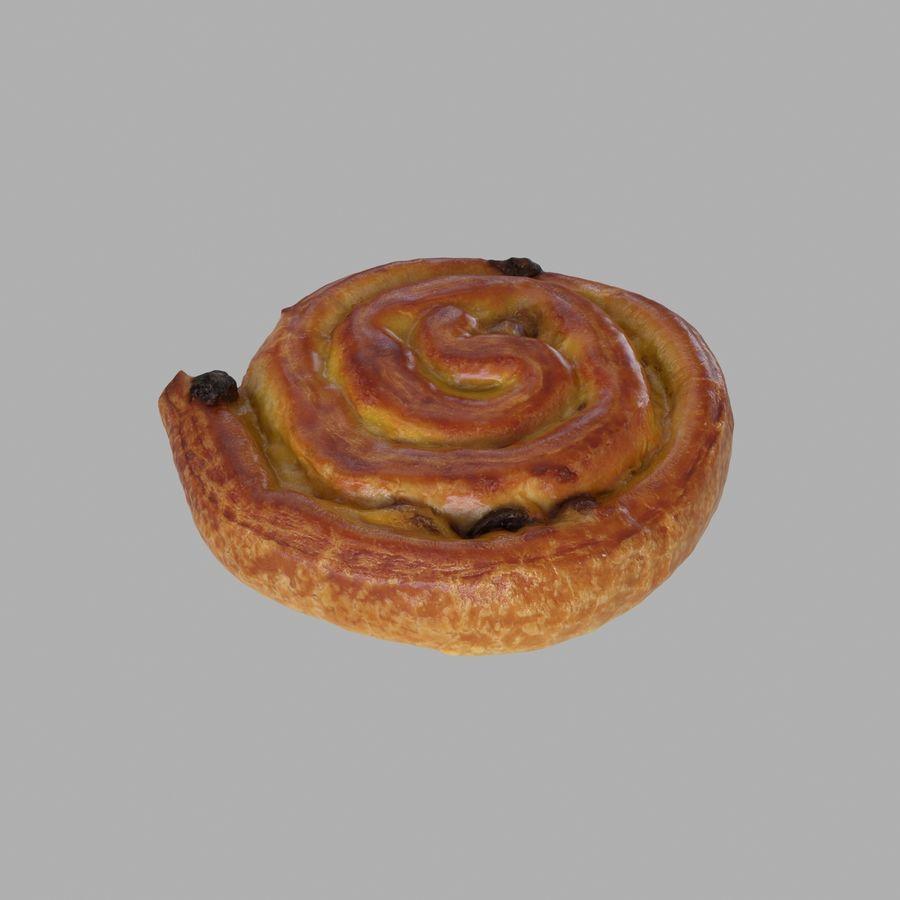 둥근 달팽이 생과자 royalty-free 3d model - Preview no. 2
