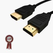 Kabel HDMI 3d model