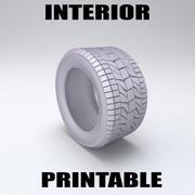 타이어 _ 인쇄 가능 3d model