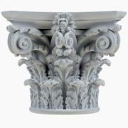 Column Capital 12 3d model