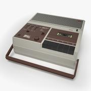 Retro Record Player 3d model