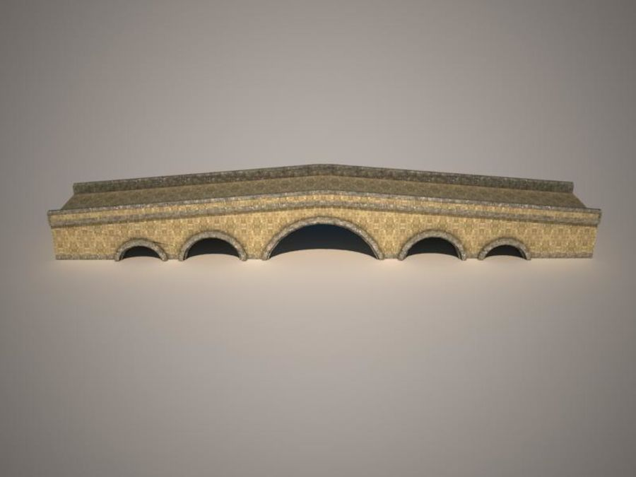 ponte royalty-free 3d model - Preview no. 9