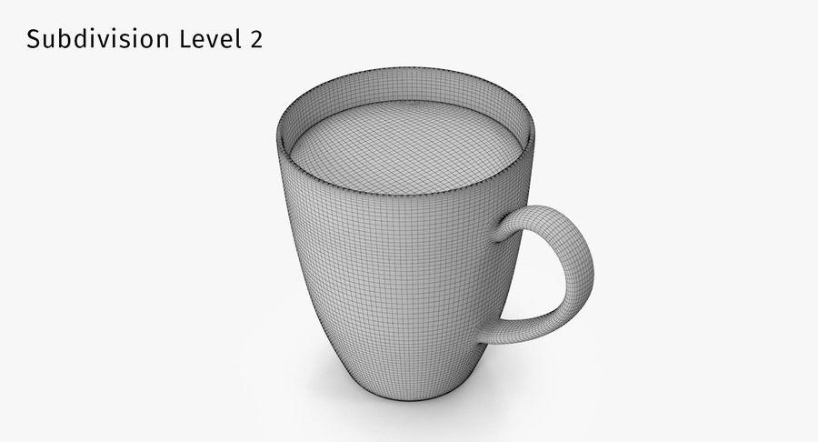 Seramik Kupa royalty-free 3d model - Preview no. 11