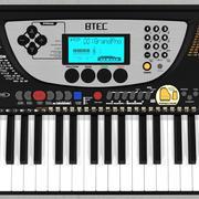 Synthesizer / Keyboard: C4D Model 3d model