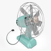 Ventilateur rétro 3d model