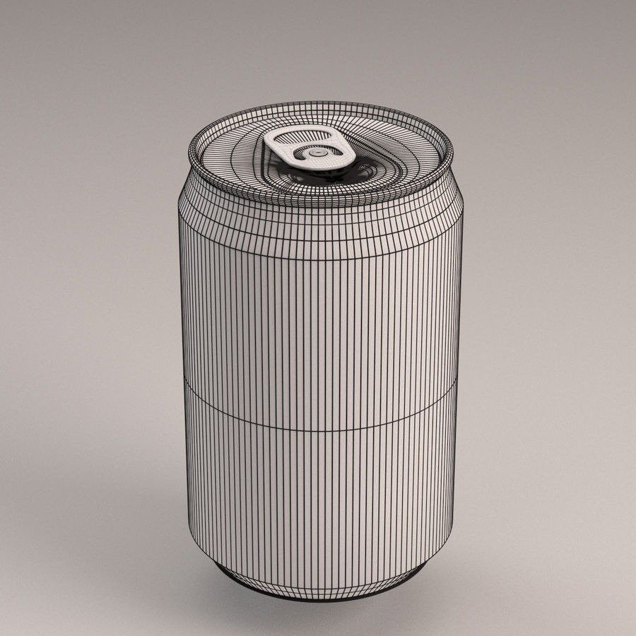Coca Cola Can royalty-free 3d model - Preview no. 3