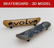 스케이트 보드-고품질 3d model