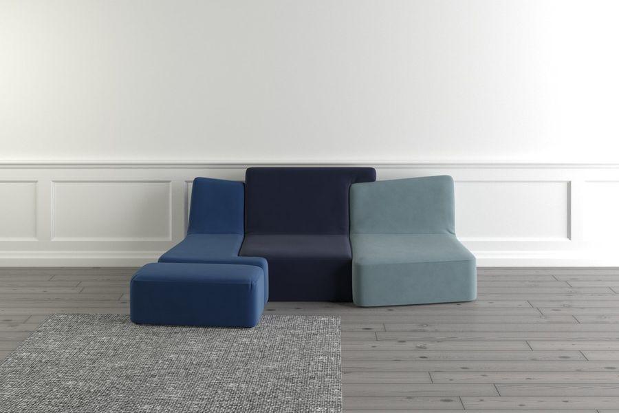 Amazing Ligne Roset Confluences 3D Model 10 Max Fbx Free3D Pabps2019 Chair Design Images Pabps2019Com