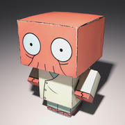 low poly man Zoidberg 3d model
