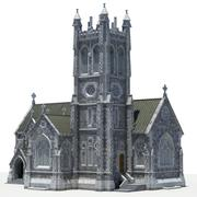 カイルモアミニ大聖堂 3d model