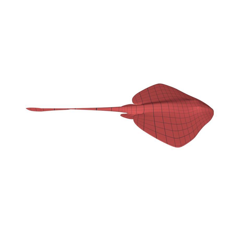 Stingray base mesh royalty-free 3d model - Preview no. 1