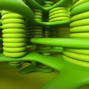葉緑体 3d model