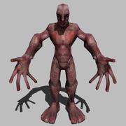 Zombi modelo 3d