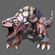 yırtıcı hayvan 3d model