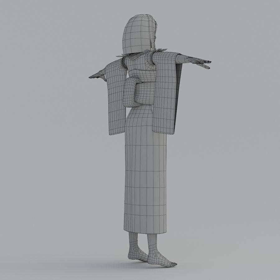 yuna_V1 royalty-free 3d model - Preview no. 20