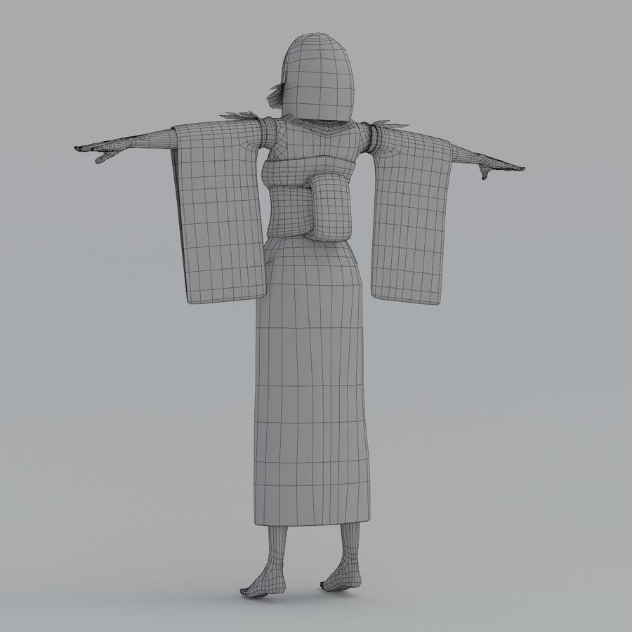 yuna_V1 royalty-free 3d model - Preview no. 18