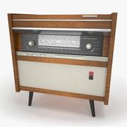 Radiola retrò 3d model