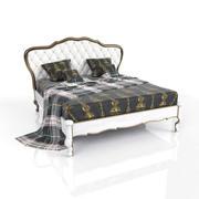 Klassisk säng 3d model