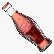 Coca Cola glasflaska 3d model