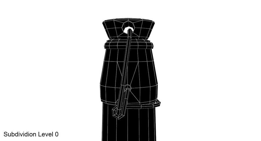 Bottle Oil royalty-free 3d model - Preview no. 10