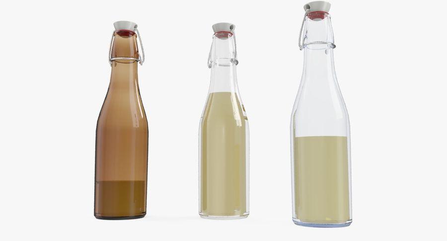 Bottle Oil royalty-free 3d model - Preview no. 2