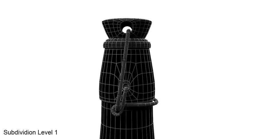 Bottle Oil royalty-free 3d model - Preview no. 11