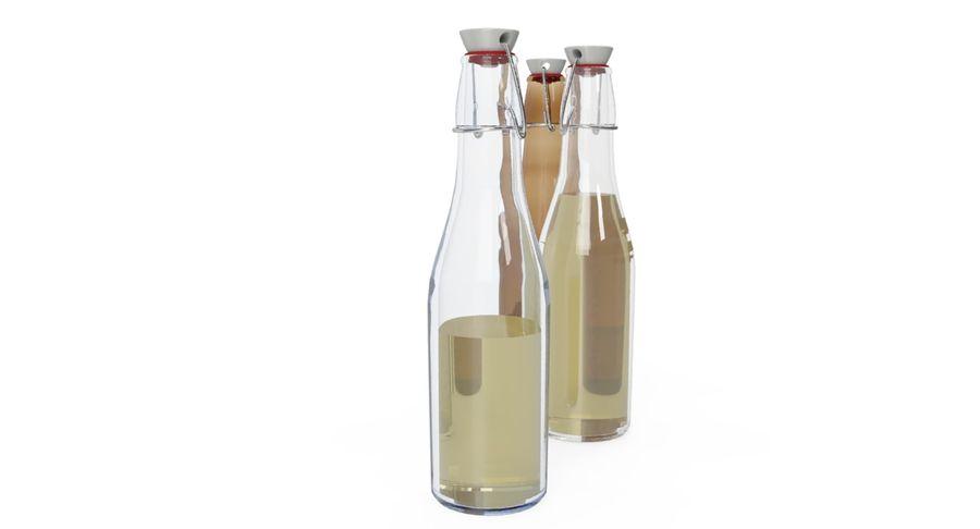 Bottle Oil royalty-free 3d model - Preview no. 4