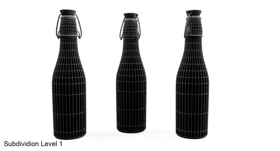 Bottle Oil royalty-free 3d model - Preview no. 9