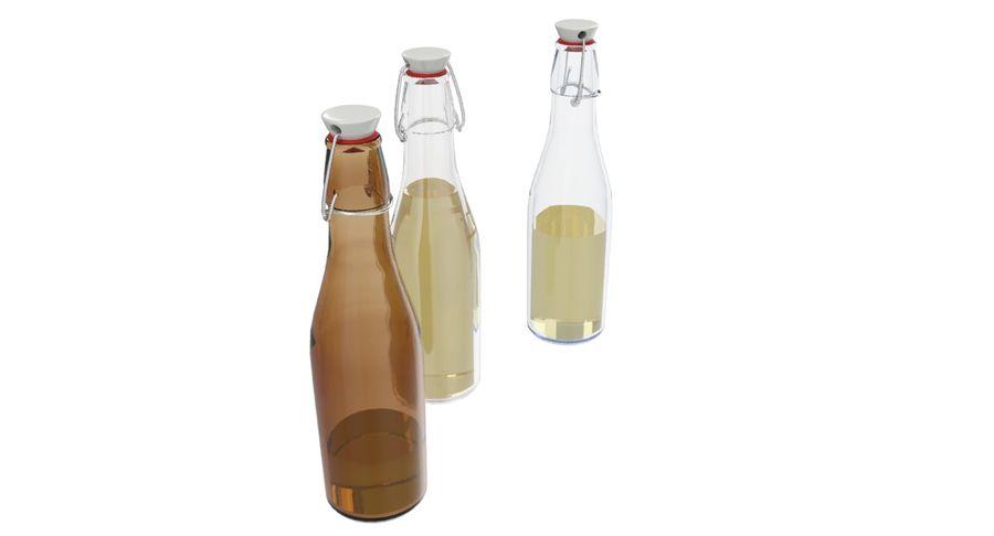 Bottle Oil royalty-free 3d model - Preview no. 7