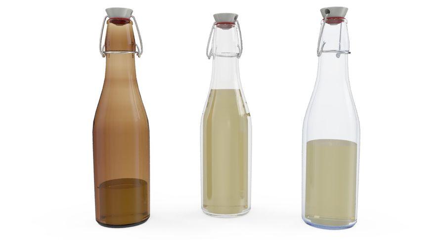 Bottle Oil royalty-free 3d model - Preview no. 3