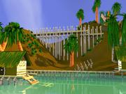 Pacchetto isola tropicale 3d model