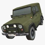Uaz 3d model