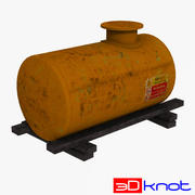 Storage Tank 003 3d model
