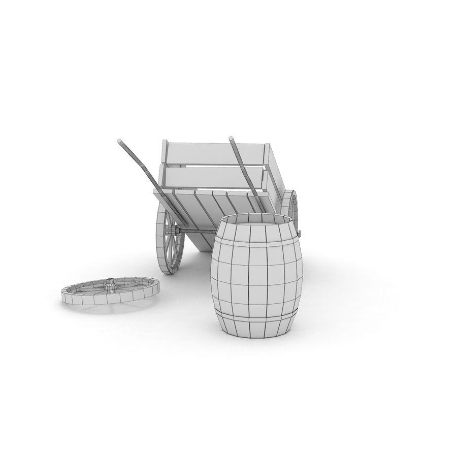 왜건 royalty-free 3d model - Preview no. 12