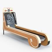 Vintage Skeeball Classic 3d model