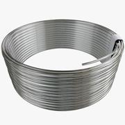 Cable de alambre modelo 3d
